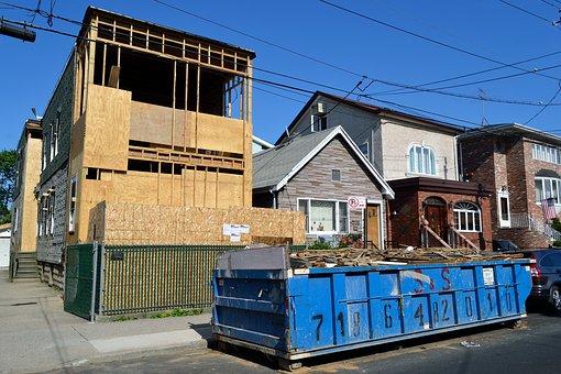 извозване на строителни отломки