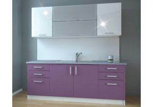 кухня в лилаво