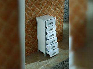 Ретро PVC шкаф за баня